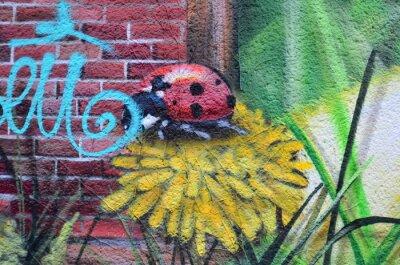 Quadro Street art dans les rues de Berlin