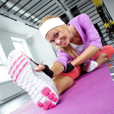 Quadro Stretching dei muscoli