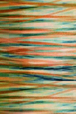 Quadro strisce astratto - texture grafica