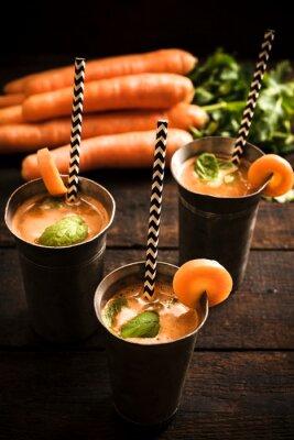 Quadro succo di carota in casa