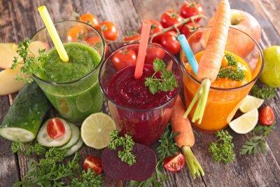 Quadro succo di verdura di disintossicazione