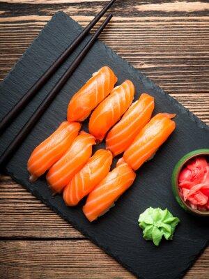 Quadro Sushi con salmone