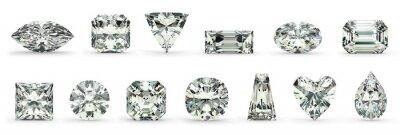 Quadro Tagli di diamante