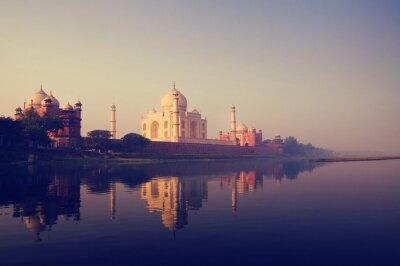 Quadro Taj Mahal India Sette Meraviglie Concetti