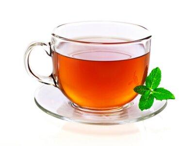 Quadro Tazza di tè alla menta