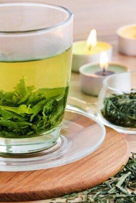 Quadro Tè verde e candele