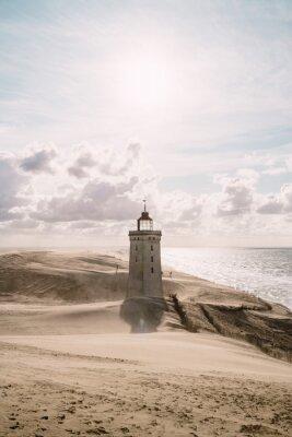 Quadro Tempesta di sabbia al faro