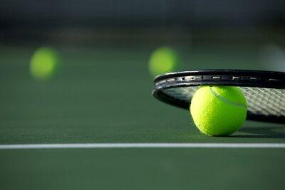 Quadro Tennis Ball e il racket