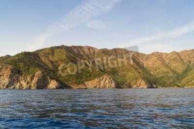 Quadro tipi di costa turca del Mar Nero