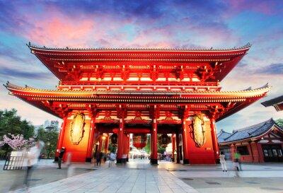 Quadro Tokyo - Giappone, Tempio Asakusa