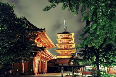 Quadro Tokyo tempio