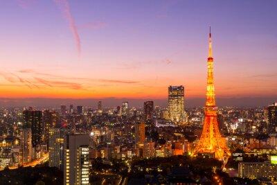Quadro Torre di Tokyo, Tokyo, Giappone