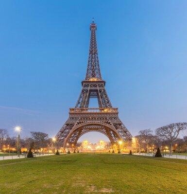 Quadro Torre Eiffel Alba