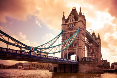 Quadro Tower Bridge di Londra, Regno Unito