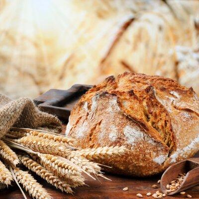 Quadro Tradizionale pane appena sfornato