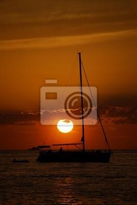 Quadro tramonto
