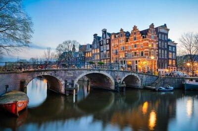 Quadro Tramonto a Amsterdam, Paesi Bassi