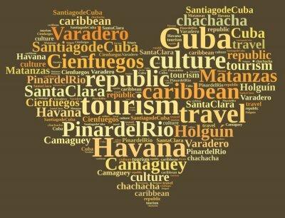 Quadro Turismo di Cuba.
