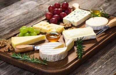 Quadro Vari tipi di formaggio
