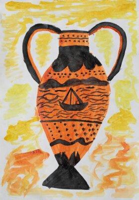 Quadro vaso antico