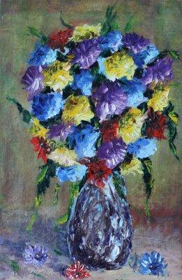 Quadro vaso di fiori, nature morte