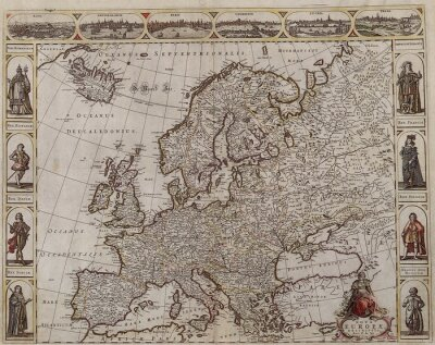 Quadro Vecchia Europa