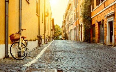 Quadro Vecchia via a Roma, Italia