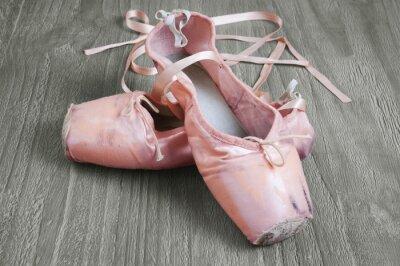 Quadro vecchie ballerine rosa