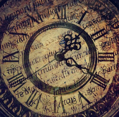 Quadro Vecchio orologio antico