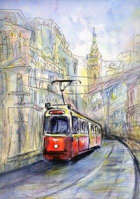 Quadro Vecchio tram