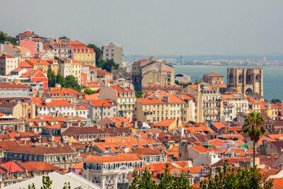 Quadro Veduta aerea di Lisbona, Portogallo