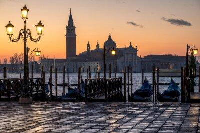 Quadro Venezia, Alba e Chiesa di S. Giorgio