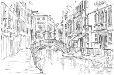 Quadro Venezia - Fondamenta Rio Marin