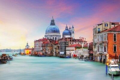 Quadro Venice - Grand Canal and Basilica Santa Maria della Salute