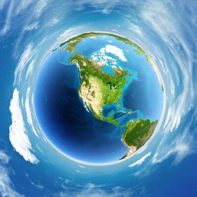 Quadro Vero sollievo Globe