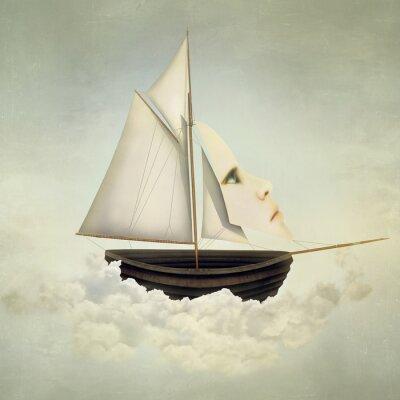 Quadro Vessel surreale