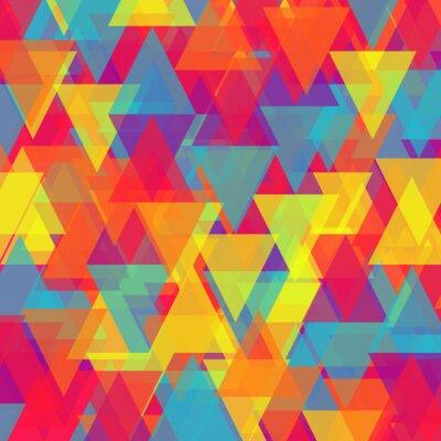 Quadro Vettore di triangolo astratto sfondo