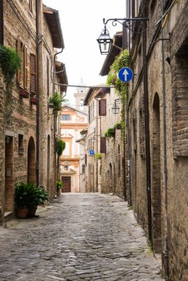 Quadro Vicolo romantico in Italia