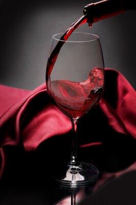 Quadro Vino rosso