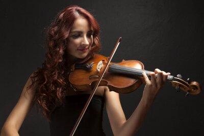Quadro Violinst Woman
