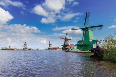 Quadro vista di Zaanse Schans