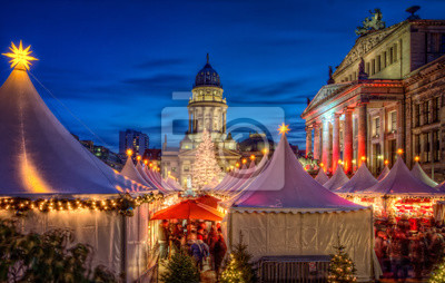 Quadro Weihnachtsmarkt Berlino