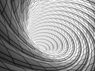 Quadro Wired Vortex Background