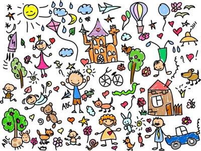 Quadro Детские рисунки