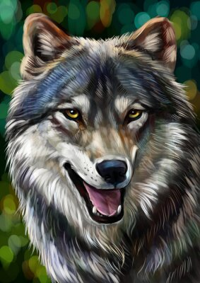 Quadro Волк